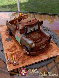 Tow Mater Cake - by MiaCakeHouse
