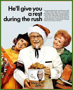 Is this the ad that made Japan think KFC was an American Christmas tradition?