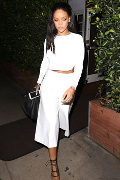 "Rihanna leaving ""Giorgio Baldi"" restaurant in Los Angeles. (6th February 2015)"