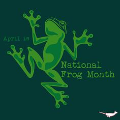 April is National Frog Month