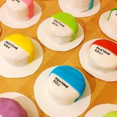 #Colorful treats that take the cake! Thank you for capturing this sweet moment @Michelle Flynn Connolly! #Pantone #Design