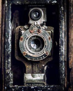 Vintage Kodak cámara impresión o abrigo de la lona decoración