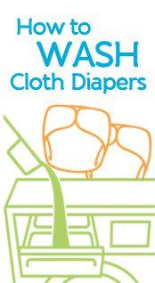 Cloth Diaper Laundry Tips & Tools