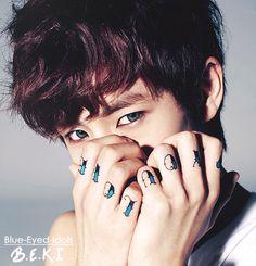 BLUE EYED K-POP IDOLS: #282  No Minwoo - Boyfriend