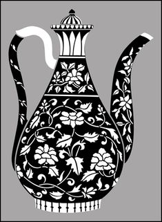 Click to see the actual BW7 - Turkish Pot No 1 stencil design.