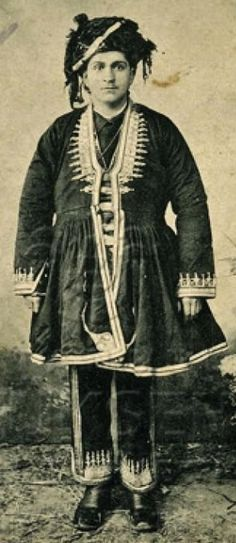 A young member of the Kurdish nobility, established in Saloniki. Late 19th century.