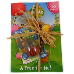 Lorax Party Ideas:  Loot bags, activities