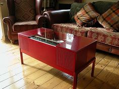vintage radiogram coffee table by vyconic | notonthehighstreet.com