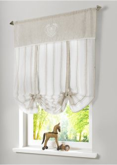 "Bindegardine ""Heidi"", Tunnelzug beige - bpc living bonprix collection online bestellen - bonprix.de"