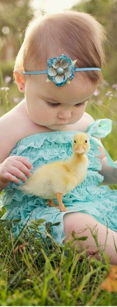 spring.quenalbertini: Spring Baby with Baby Duck