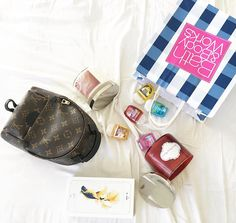 Fashion Fragrance Fast phone. . @louisvuitton Mini Backpack Spring Summer Collection from my lbest personal shopper and friend @violenziajean. Check out her ig @violenzia_luxurymarket for more fashion gems!  Pocket Bac Antibacterial gel and Scented Candles from @bathandbodyworks  Finally after having spider web screen and low battery battle for over 2 weeks of #iphone6s i got myself the #iphone6splus 64gb in gold from @kiosutama977. Fast response fast service and really good deal! Highly…