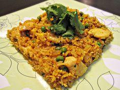 Vietnamese Style Chicken Fried Rice