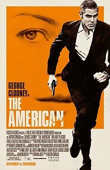 The american george clooney watch. Drama focuses on an assassin for hire played by george clooney. George clooney is the american in this sexy suspense thriller from director. Action Movie Poster, Best Movie Posters, Action Film, Films Cinema, Cinema Posters, The American George Clooney, Angela Bowie, David Bowie, Film Noir