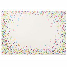 Celebration Confetti Paper Placemats