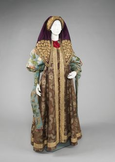 Russian ensemble via The Costume Institute of the Metropolitan Museum of Art