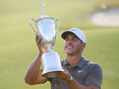 Is Brooks Koepka Here To Stay? - We look at whether US Open winner Brooks Koepka will remain amongst golf's elite players Golf Trophies, Latest Golf News, Brooks Koepka, Golf Estate, Champions Trophy, Us Open, Golf Clubs, Golfers, Counter