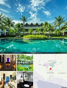 Cet hôtel moderne est situé au coeur de Siem Reap, à proximité du célèbre temple d'Angkor Wat. Centres commerciaux et marchés vous attendent à moins de 5 minutes de marche. 10 minutes suffisent pour rejoindre Angkor Wat. L'aéroport de Siem Reap se trouve à 15 minutes de route.