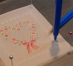 Splitcoaststampers - Parchment Craft Technique Tutorial by Ellen Hutson