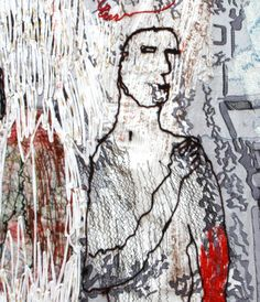"Homage to Guernica - Alice Kettle from ""Fourteen"" at Llantarnam Grange Arts Centre"