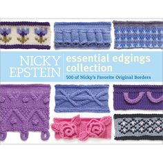Nicky Epstein Books-The Essential Edgings Collection | SongbirdCrafts - Knit & Crochet on ArtFire