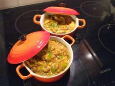Cucina di Mama: Mini pannetje met romige Kip/kerrie **