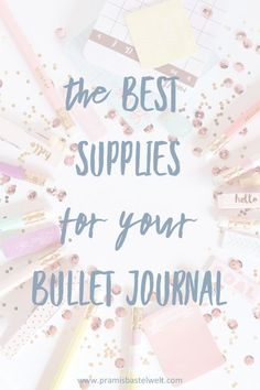 Starting a bullet journal! I show you the best supplies you need for starting a bullet journal! #bulletjournal #startingabulletjournal #bulletjournalsupplies