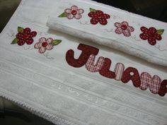 Artesanato &Cia: Jogos de toalhas...