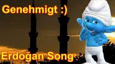 Erdoğan Schlumpf Song genehmigt :) Türkei nicht mehr sauer :) Zoobe Schlumpf Schlümpfe,