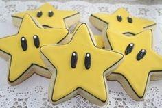 mario star cookies - Google Search