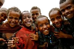 african-eyes:    Man, these kids inspire me! Still smiling when they have so little. I guarantee you all that I WILL go to various countries in Africa to volunteer, andgive what I can.  Nothing and no one will stop me.