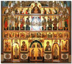 Иконостас храма Пятидесятницы