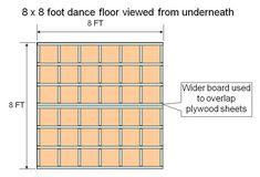 Building a Basement Dance Floor | Zebadiah and Beauregard's Front Porch