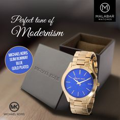 Michael Kors simple watches which sets a perfect tone of modernism.