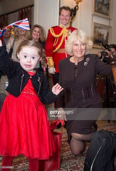 Duchess of Cornwall, patron of the Helen & Douglas House at Clarence House on December 15, 2015 in London, England.