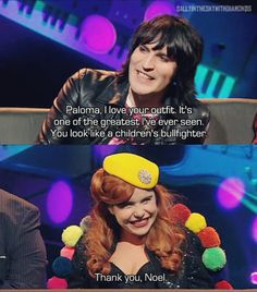 Psychedelic partners-in-crime Noel Fielding and Serge Pizzorno talk croquet, Glastonbury - and rock'n'roll vs broccoli. British Humor, British Comedy, The Mighty Boosh, Paloma Faith, Great Comedies, Russell Brand, Noel Fielding, Comedy Show, Funny People