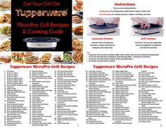 Micropro grill recipes and cooking guide 2017