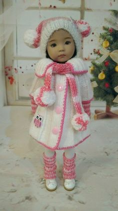 Outfit for dolls Dianna EFFNER LITTLE DARLING 13""