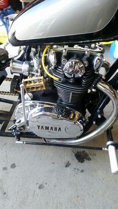 Japanese Motorcycle, Retro Motorcycle, Cafe Racer Motorcycle, Motorcycle Design, Honda Bikes, Yamaha Motorcycles, Custom Motorcycles, Custom Bikes, Yamaha 650
