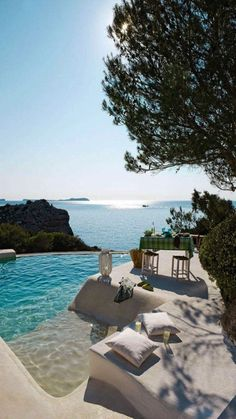 Travel Discover Ready to party in Ibiza? Read our guide on renting a car in Ibiza the best festivals clubs and beaches. Dream Vacations Vacation Spots Vacation Wear Dream Pools Cool Pools Pool Designs The Places Youll Go Places To Travel Outdoor Living Summer Dream, Beautiful Places To Travel, Travel Aesthetic, Dream Vacations, Family Vacations, Resorts, Travel Inspiration, Travel Destinations, Scenery