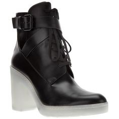 ALEXANDER WANG 'Jill' ankle boot ($1,250) ❤ liked on Polyvore