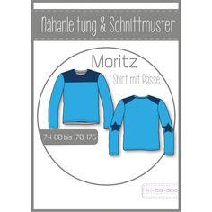 ki-ba-doo - Schnittmuster - Moritz - Shirt mit Passe - Boys