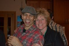 Greg with Bryn, sponsor of PA House Concert Series
