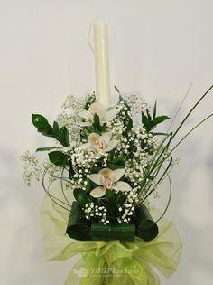 Lumanare nunta de la 123flori Wedding Flowers, Candle Holders, Candles, Table Decorations, Home Decor, Horsehair, Decoration Home, Room Decor, Porta Velas