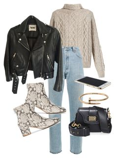 Untitled #22624 by florencia95 on Polyvore featuring polyvore, fashion, style, Vince, Acne Studios, RE/DONE, ATP Atelier, Christian Dior, Cartier and clothing