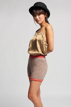 Koshka - Reale Bambola Knit Shorts Pink, $101.00 (http://www.shopkoshka.com/new-in/reale-bambola-knit-shorts-pink/)
