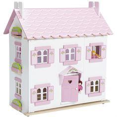 Casa de muñecas de madera Sophie en El País de los Juguetes