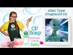 Soap Testing Alien Type Fragrance Oil- Natures Garden #naturesgarden #soapmaking #alientype #soaptestingvideo