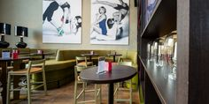Restaurant by Kitzig Interior Design – Architecture Group at GOP Varieté-Theatre, Bremen - Germany