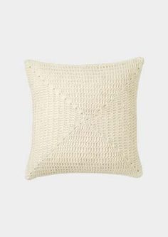 ++ crochet cushion cover