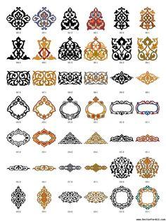 Arabesque Decor Elements Vectorforall